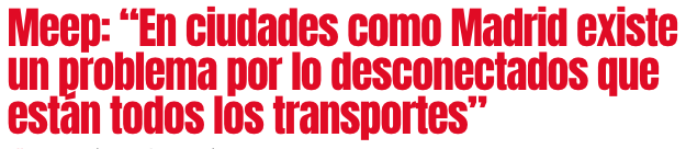 Discover the interview with Applicantes where we talk about mobility and related apps